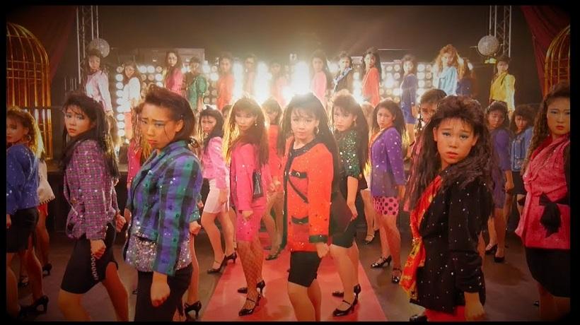 YouTube「【TDC】バブリーダンスPV 登美丘高校ダンス部 Tomioka Dance Club」より