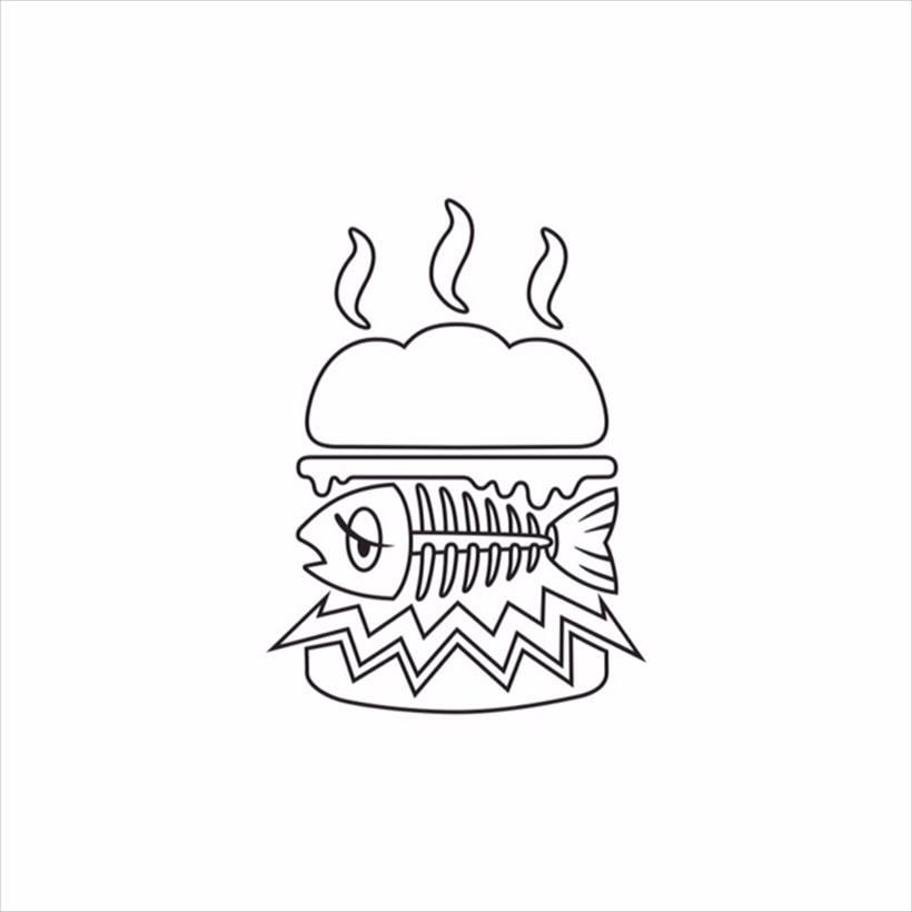 ↑ミシュラン2つ星を獲得している銀座 青空(ハルタカ)で経験を積んだ鮨職人がプロデュースした今注目のフィッシュバーガー専門店!フォトジェニックな話題の出汁巻き卵ドッグは絶品