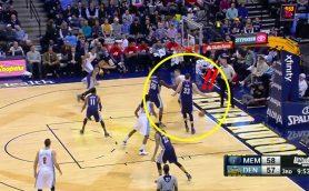 NBAで大活躍中! 208cmで「ノールックパス」の達人、ヨキッチのプレーを見よ