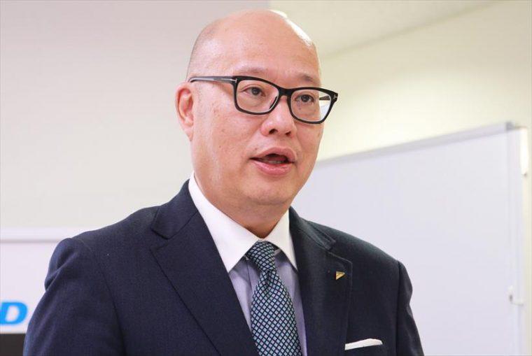 ↑空調営業本部事業戦略室コンシューマー営業担当部長の桜田宇洋氏