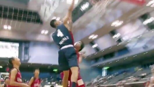 15歳で日本代表入り!バスケ界のスーパー中学生、田中力のプレーはこんな感じ