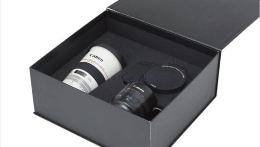 レンズ型マグカップ、カメラ型USBメモリー…ファン垂涎のキヤノン公式グッズが続々登場