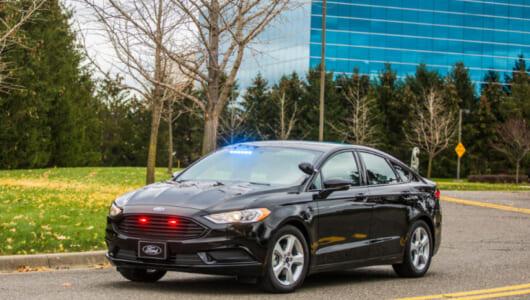 フォードが警察&政府専用のPHV車両を発表