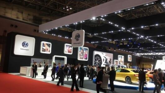 【東京モーターショー2017】「すぐそこにある」最新が揃う堅実さは、まさにフォルクスワーゲンならでは!