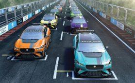 ジャガーがフォーミュラEのサポートレースとして、EVのワンメイクレース10戦を開催
