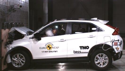 三菱エクリプス クロスがユーロNCAPで5つ星を獲得!