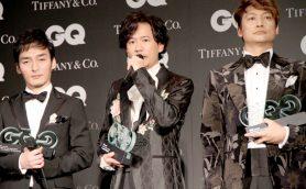 「エンターテイナーとして努力し続けたい」稲垣吾郎、草彅剛、香取慎吾が『GQ MEN OF THE YEAR2017』受賞
