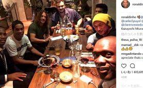 さすがキングカズ!W杯の抽選会で一緒に食事をしたメンバーが豪華すぎる