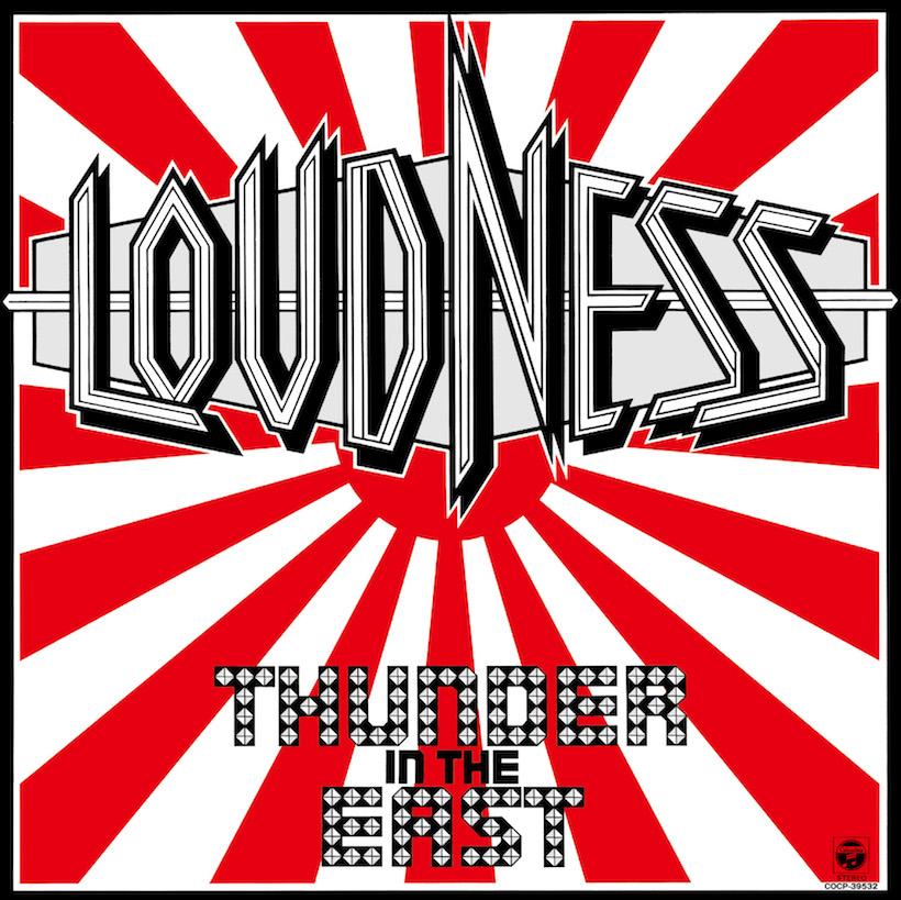 ↑米アトランティックと契約し、全米デビュー盤となったラウドネスのアルバム『Thunder In The East』(85年1月21日発売)。ビルボードチャートで最高位74位を記録、半年間に渡ってランクインした。さらに次作『Lightning Strikes』は64位にランクイン