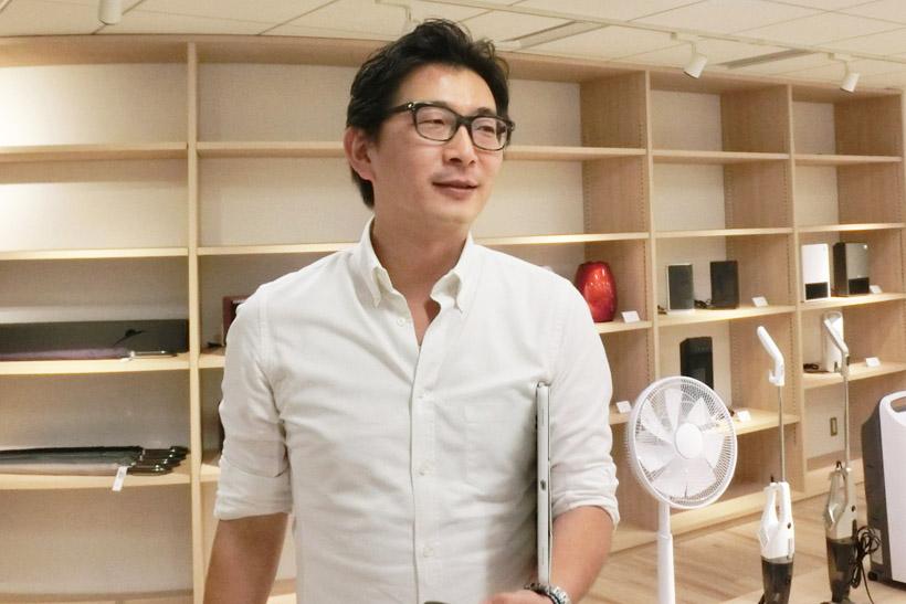↑安尾雄太副社長。断られたのに何で会いに行ったのか? という問いに対して 「 断られたところに行くのが好きだから(笑)」と答えてくれました