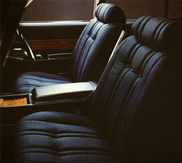 1973年モデルのインテリア。日本の風土、日本人の感覚にあわせた素材を採用したことも、長く愛された理由のひとつ