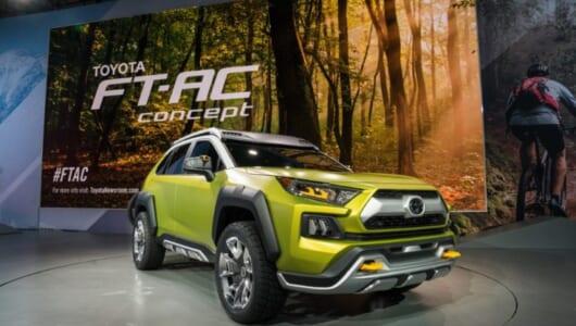 トヨタがSUVの新コンセプト、FT-ACをLAショーに出展