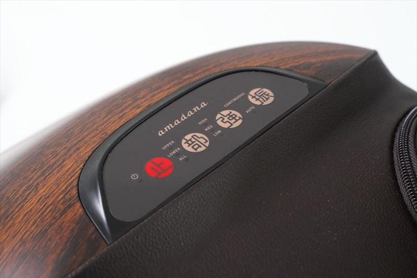 ↑ボタンのデザインもスタイリッシュ