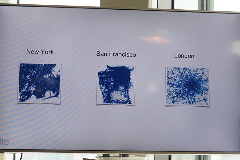 ↑海外の主要都市の中心部は「TILEコミュニミティ」のメッシュネットワークでカバーされている