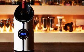 これは「ワインに着せるタイムマシン」だ! わずか数分で長期熟成の効果を生む「超音波デキャンタ」販売スタート