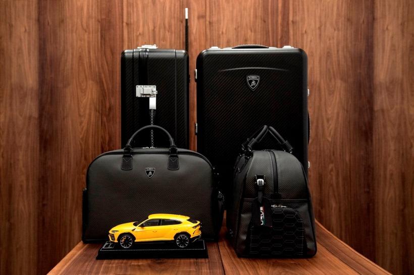 そして、カーボンファイバー製キャリーバッグメーカーであるテクノモンスターからは、ウルスのラゲッジルーム専用に作られた、4つのスーツケースからなるトラベルセット2種を発売。