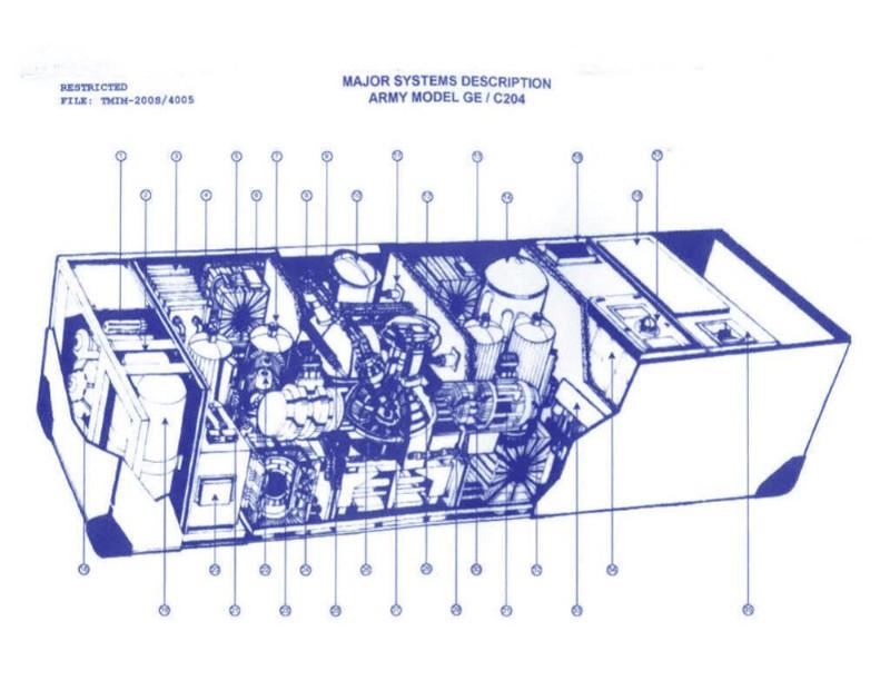 ジョン・タイターが乗ってきたタイムマシンのシステム概要図(ⓒJohn Titor Foundation, Inc.)。