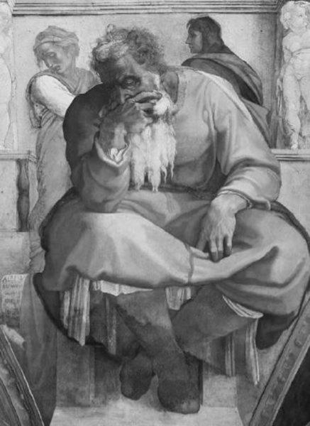 預言者エレミヤ。
