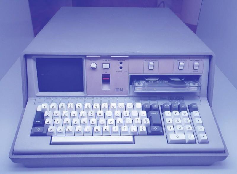 「IBM5100」は、IBMが市場に初めて投入したデスクトップコンピュータだ(写真=Sandstein)。