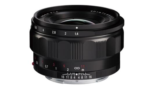 人気のクラシックシリーズにソニーEマウント用が登場「フォクトレンダー NOKTON classic 35mm F1.4 E-mount」