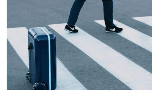 世界初の「完全自走」で手ぶら旅行を実現! 掃除ロボットの次は「自走式スーツケース」がくる!