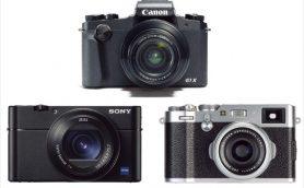 コレがコンパクトカメラの生きる道! キヤノン/ソニー/富士フイルムの大型センサー機三つ巴比較