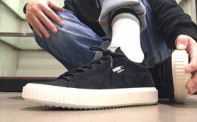 クラシックな見た目に靴下のようなフィット感! 伝統と先進のギャップが絶妙なプーマの次世代スニーカー