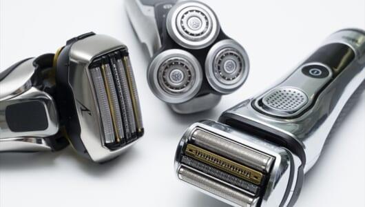 電気シェーバーの剃り味を3項目で徹底比較! ブラウン、パナ、フィリップス深剃りNo.1はどれだ?