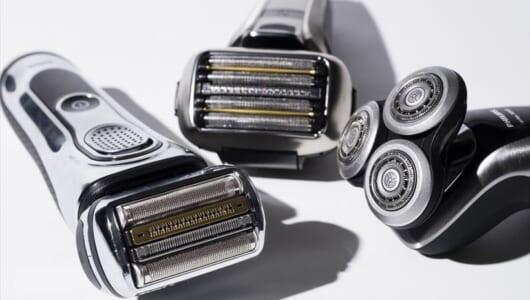 電気シェーバー3モデルの「剃り味以外」を徹底比較!「年間メンテ代」って知ってる? 【ブラウン、フィリップス、パナ】