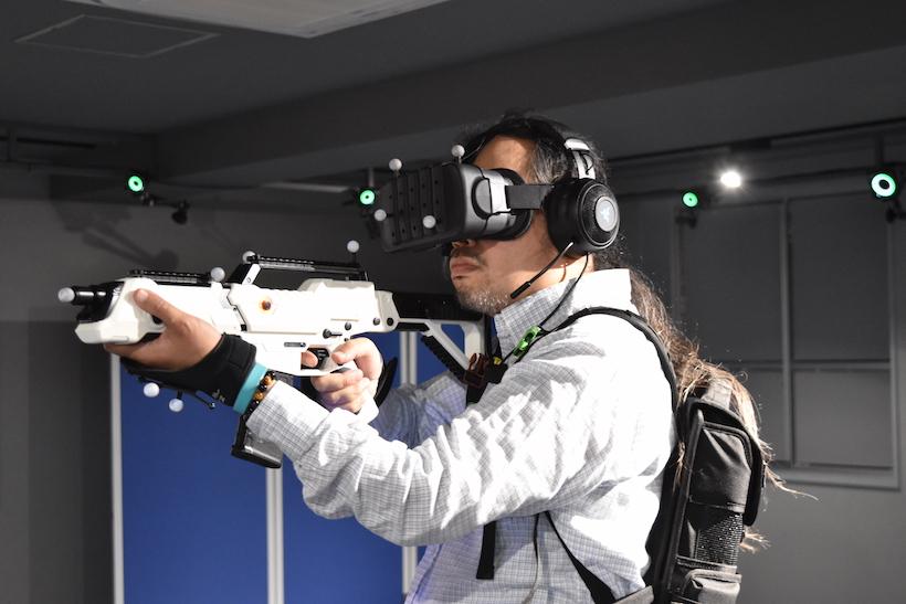 ↑新宿や秋葉原でも「SEGA VR EREA」が展開されている