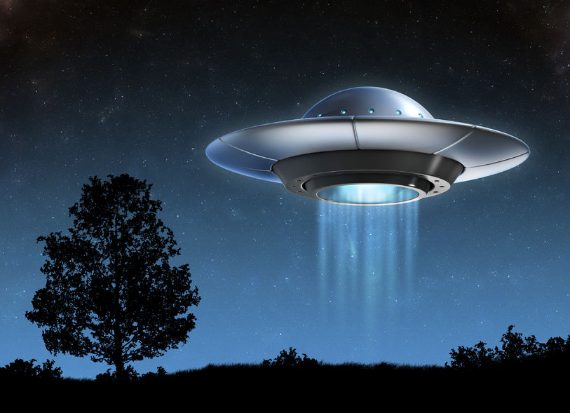 46355882 - alien spaceship - ufo