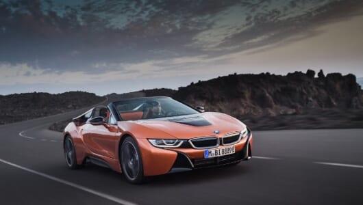 BMW i8ロードスターはLAで正式デビュー!
