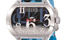 ビバリーヒルズの名前は伊達じゃない!迷彩柄の中でダイヤモンドが舞い踊るセレブウオッチブランドのデュナミス最新作