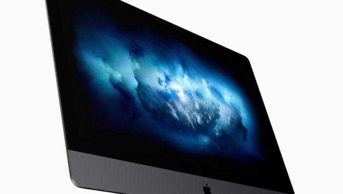 ↑iMac Pro。2017年12月14日発売。実勢価格は55万8800円(税別)~