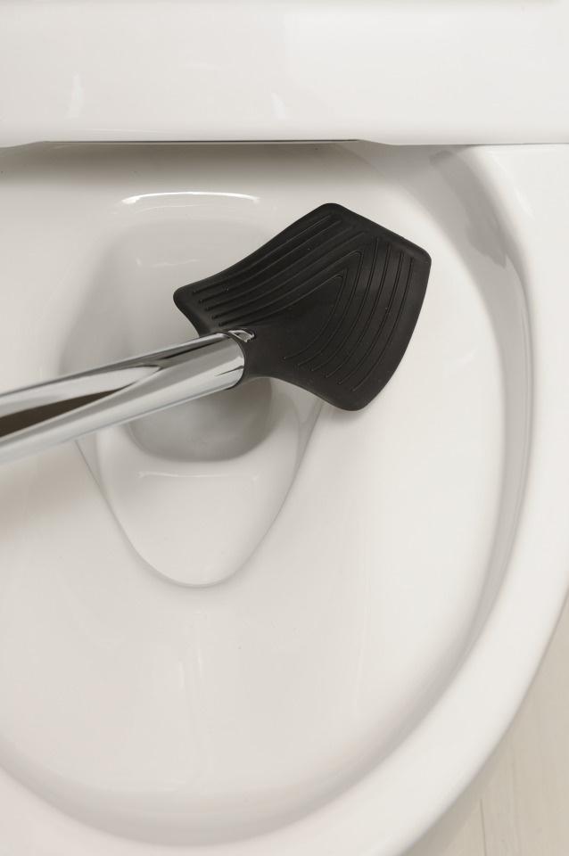 出典画像:「ドイツからのトイレブラシ。 最初は10才の息子のために。そして今、皆様に。」Makuake より