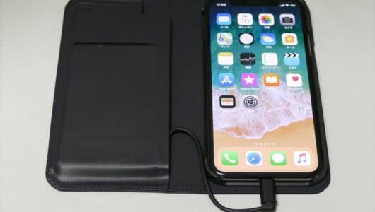 異色だけど便利なiPhoneケースをためしてみた! フリップケース派も安心なバッテリーケース「INVOL Ceramic Battery Flip Set」