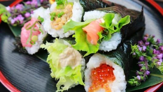 「ちらし寿司」や「手巻き寿司」より簡単で美味しい、第三のお寿司とは