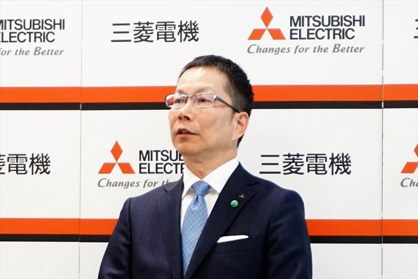 ↑三菱電機 先端技術総合研究所 所長の水落隆司氏