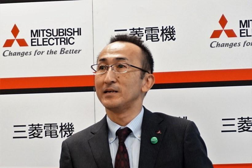 ↑三菱電機 先端技術総合研究所 環境システム技術部長 古川 誠司氏
