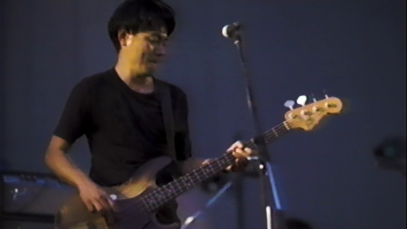 ↑田中貴兄貴。画質はVHS的な感じだけど、演奏の熱気はなぜだかダイレクトに伝わってくる