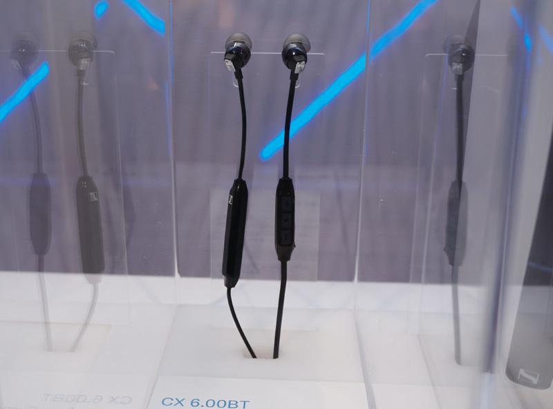 ↑ゼンハイザーのワイヤレスイヤホンのエントリーモデル「CX 6.00 BT」