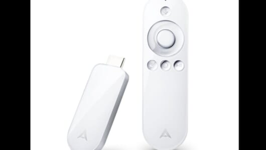 """自宅テレビに""""挿すだけ""""でAndroid TV化! 4K対応で約1万円の価格もうれしい「Air Stick 4K」"""