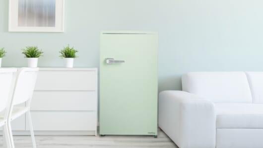 金庫…じゃなくて冷蔵庫! 「取っ手つきレトロモデル」は新生活の最強パートナーとなるか?