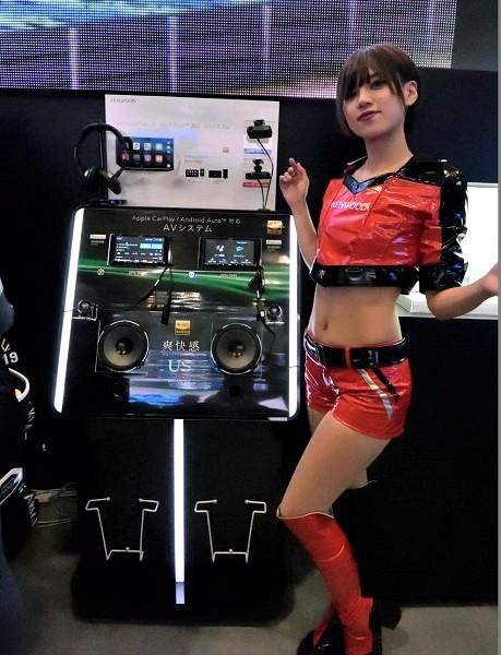 ↑ケンウッドが「東京オートサロン2018」で発表した、同社のフラッグシップモデル「TYPE Z」シリーズ