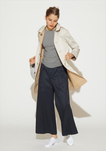 婦人服「マッキントッシュ フィロソフィー」 リバーシブル仕様の「花粉プロテクトコート」