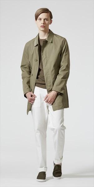 「マッキントッシュ フィロソフィー」の1着。はっ水性」を併せ持つ バルマカーンコート