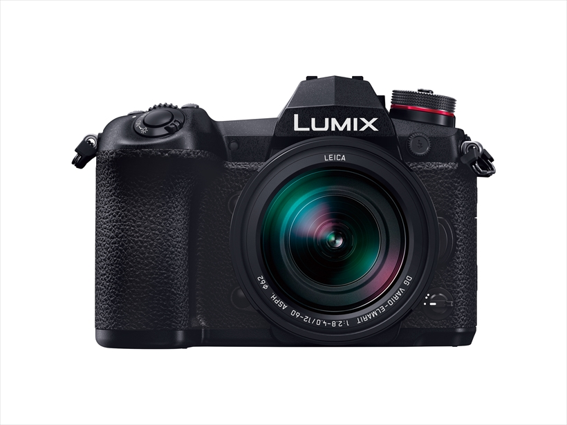 ↑動画に特化した印象のあるGH5に対し、静止画のフラッグシップとなるのが「ルミックスG9 PRO」。AF追従での20コマ/秒連写や「6K PHOTO」、約6.5段分のボディ内手ブレ補正など静止画に求められる最新の機能を装備する