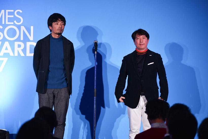 ↑↑Takramの緒方壽人氏(左)と林 信行氏