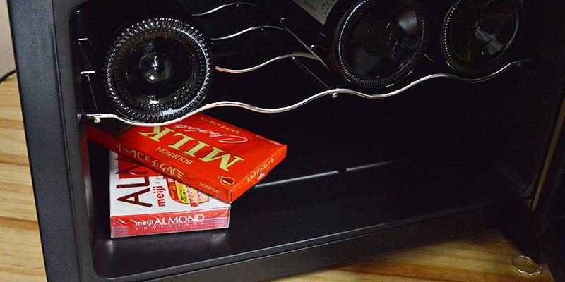 ↑チョコレートやチーズを入れておけば、ちょうどいい硬さに