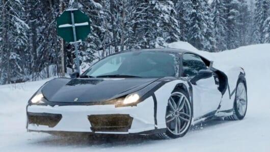 これが最後になるか、ガソリン「だけ」のフェラーリが発表間近?